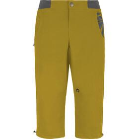 E9 3Quart - Pantalones cortos Hombre - amarillo